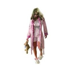 Costume GIRL ZOMBIE/WALKING DEAD