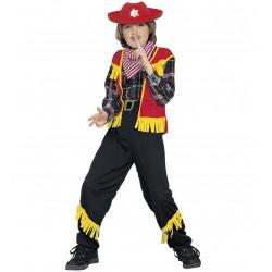 Costume Cow boy colorato bambino