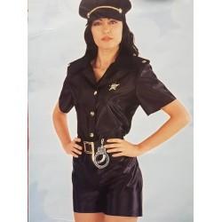 Costume Poliziotta con pantaloncini