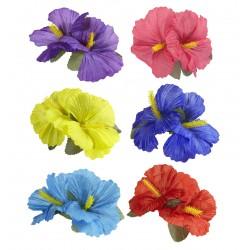Fermacapelli con fiore