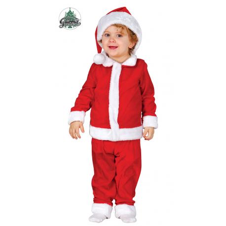 Costume Babbo natale bebè