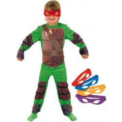 costume tartaruga ninja bambino