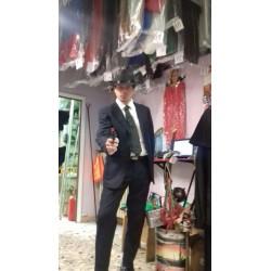 Vestito Gessato Gangster