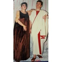 Costume Romana Marrone
