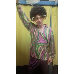 Costume Disco Fever '70 purple