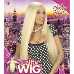 Parrucca bionda lunghissima